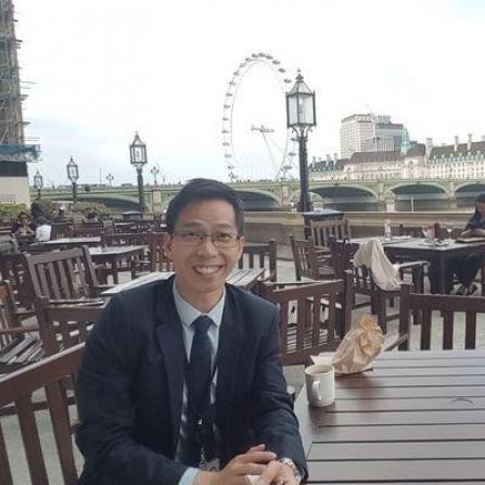 ▲탈북민 출신 티모시 조씨가 영국 구의원 선거 출마했다. (연합뉴스)