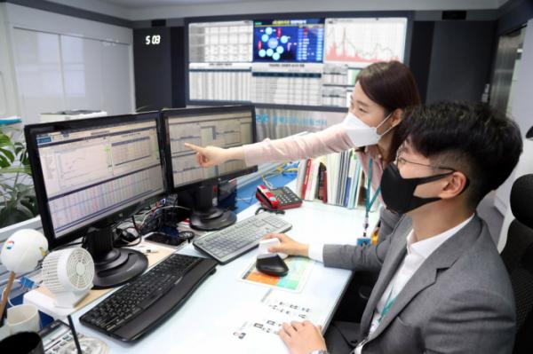 ▲한국거래소 공매도 종합상황실. (사진=한국거래소)