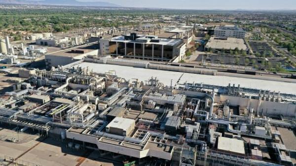 ▲인텔 미국 뉴멕시코 주 리오랜초 생산시설.  (사진제공=인텔)