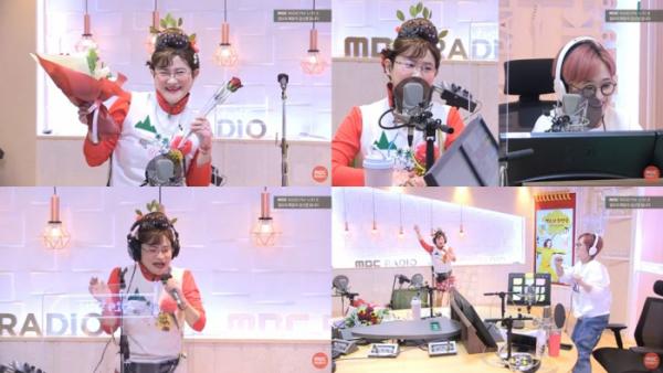 (출처=MBC FM4U '정오의 희망곡 김신영입니다' 캡처)