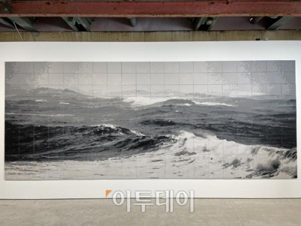 ▲'그들이 떠난 곳에서-바다 II'(2012/2021). (부산=김소희 기자 ksh@)