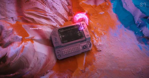 ▲SM의 아이돌 그룹 에스파(aespa)의 신곡 'Next Level'(넥스트 레벨)에 등장한 '광야'의 정체가 알려져 관심이 집중되고 있다. (사진출처=에스파 뮤직비디오 유튜브 캡처)