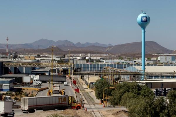 ▲멕시코 라모스 아리즈페에 소재한 제너럴모터스(GM) 공장 전경. 로이터연합뉴스