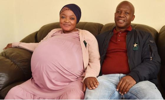 ▲남아프리카공화국에서 열 쌍둥이를 출산했다고 알려진 37세 여성의 사연이 거짓이라는 정황이 속속 밝혀지고 있다. (ANA)