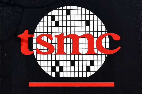▲대만 신주에 위치한 TSMC 본사 로고. 신주/로이터연합뉴스