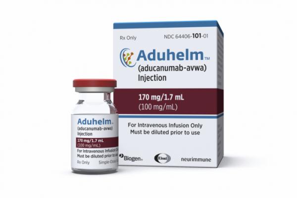 ▲미 FDA의 승인을 받은 바이오젠의 알츠하이머 치료제. AP뉴시스