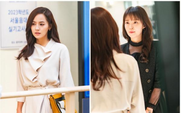 ▲'펜트하우스3' 유진, 안연홍(사진제공=SBS)