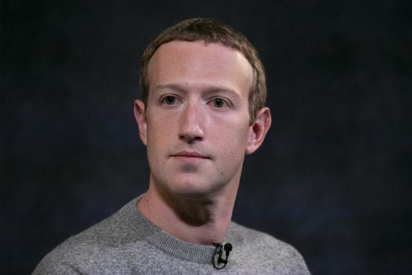 ▲마크 저커버그 페이스북 최고경영자(CEO)가 2019년 10월 뉴욕의 한 행사에서 발언하고 있다. 뉴욕/AP뉴시스