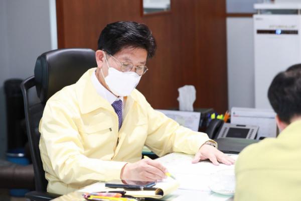 ▲노형욱 중앙 사고수습본부장(국토교통부 장관) (사진제공=국토교통부)