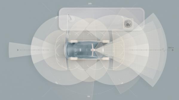 ▲볼보자동차가 차세대 충돌 방지 기술을 위해 새롭게 개발되는 순수 전기차에 라이다(LiDAR) 기술과 AI 기반 슈퍼컴퓨터를 표준으로 적용한다.  (사진제공=볼보자동차코리아)