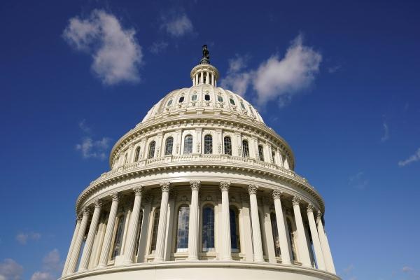 ▲미국 워싱턴 D.C. 국회의사당의 모습이 보인다. 워싱턴D.C./로이터연합뉴스