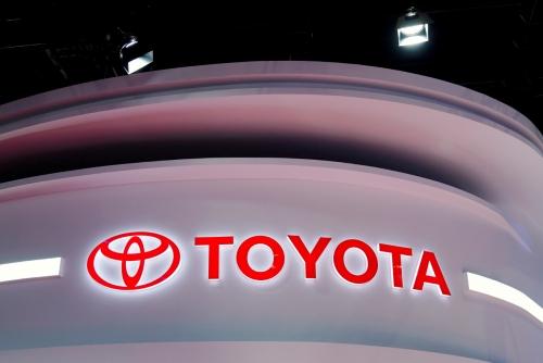 ▲일본 자동차 업체 도요타 로고. 로이터연합뉴스