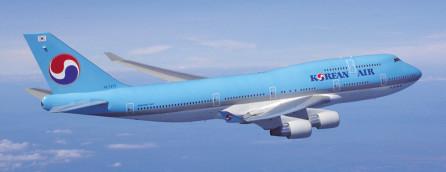 ▲대한항공 보잉 747-400.   (사진제공=대한항공)
