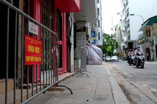 ▲베트남 하노이 거리가 신종 코로나바이러스 감염증(코로나19) 확산 여파로 한산하다. 하노이/EPA연합뉴스