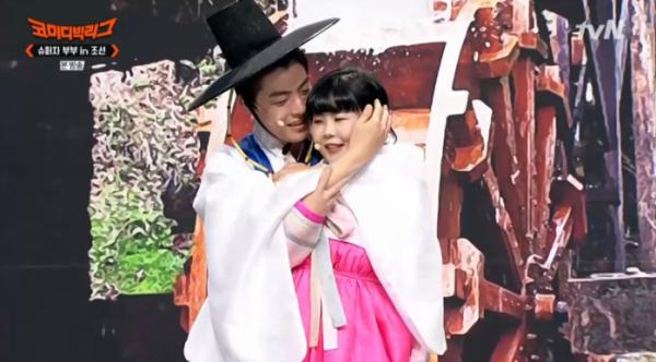 ▲하준수ㆍ안가연(사진=tvN 방송화면 캡처)
