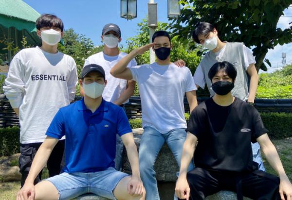 ▲'몬스타엑스' 셔누 입대 (출처=몬스타엑스 공식 SNS)