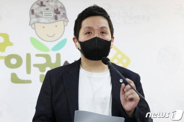 ▲임태훈 군인권센터 소장.  (사진출초=뉴스1)