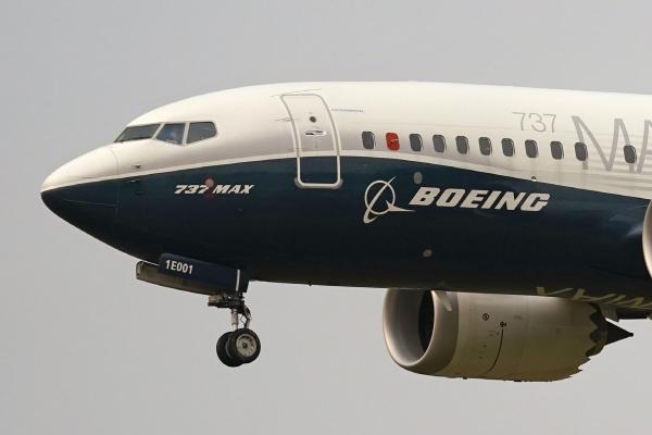 ▲보잉의 737 맥스 항공기. AP뉴시스