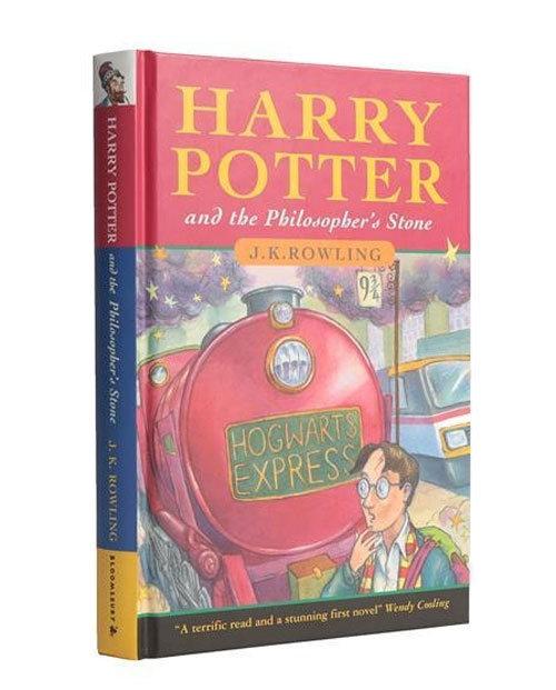▲'해리 포터와 마법사의 돌' 초판 양장본. (출처=옥셔니어스테넌츠 홈페이지 캡처)