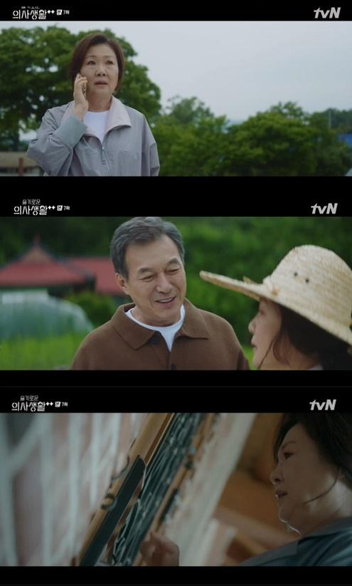 ▲'슬기로운 의사생활2' 김해숙 (출처=tvN '슬기로운 의사생활2' 캡처)