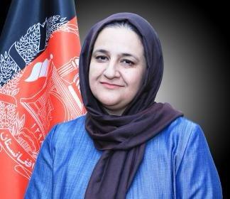 ▲아프가니스탄의 랑기나 하미디 교육부 장관. 트위터 캡처