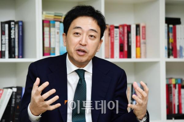 ▲금태섭 전 의원이 가 2월 7일 서울 용산구 사무실에서 이투데이와 인터뷰하고 있다. (고이란 기자 photoeran@)