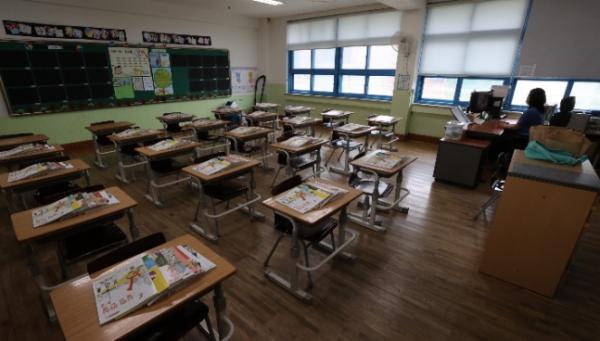 ▲비어있는 교실 (연합뉴스)