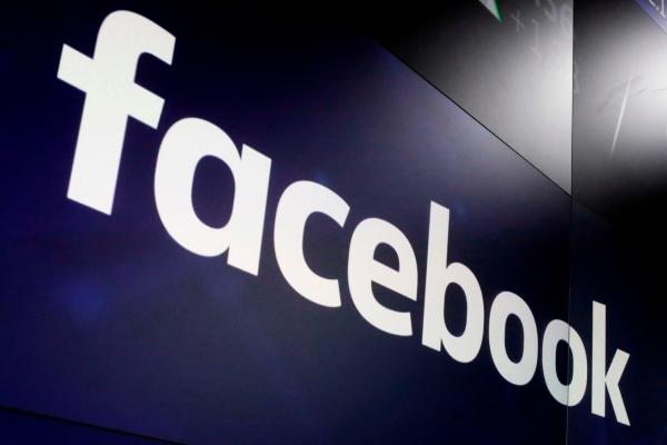 ▲미국 뉴욕타임스퀘어에 2018년 3월 29일 페이스북 로고가 떠 있다. 뉴욕/AP연합뉴스