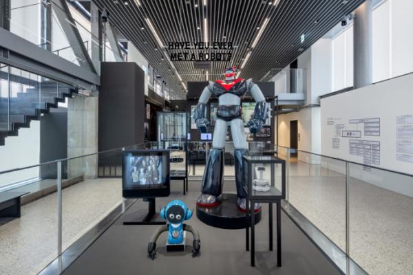 ▲<헬로 로봇, 인간과 기계 그리고 디자인> 전시 대표 이미지  (사진제공=현대차)
