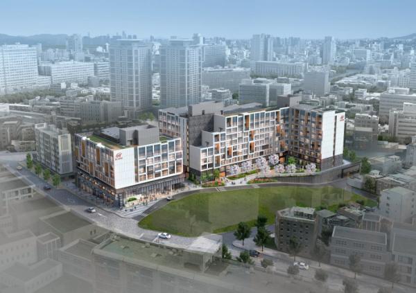 ▲현대건설 '힐스테이트 남산' 조감도 (자료제공=현대건설)