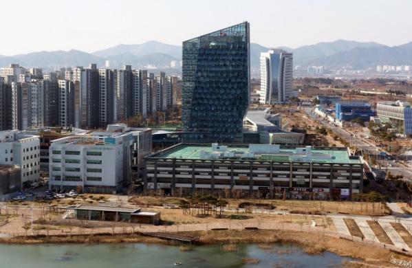 ▲전남 나주의 '광주-전남혁신도시' 전경. (사진제공=연합뉴스)
