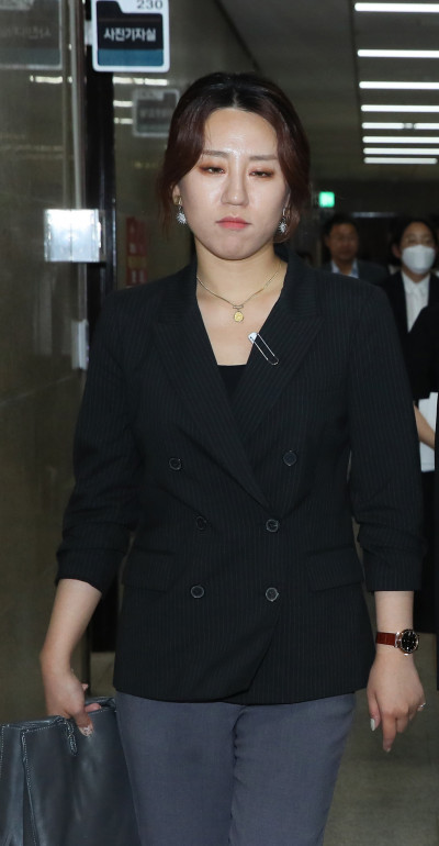 ▲조성은 전 미래통합당 중앙선대위 부위원장 (연합뉴스)