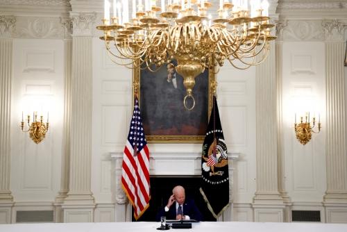 ▲조 바이든 미국 대통령이 8월 5일 백악관에서 연설하고 있다. 워싱턴D.C./로이터연합뉴스