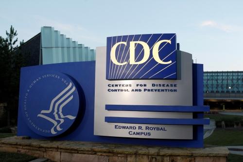 ▲미국 질병통제예방센터(CDC) 본사 전경. 애틀랜타/로이터연합뉴스