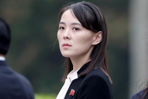 ▲김여정 북한 노동당 부부장의 모습. / 사진=연합뉴스