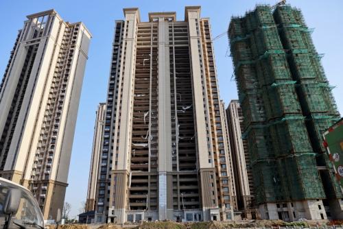 ▲중국 부동산 재벌 '헝다'가 장시성 쑤저우에서 부동산 개발 프로젝트를 진행 중이다. 쑤저우/로이터연합뉴스