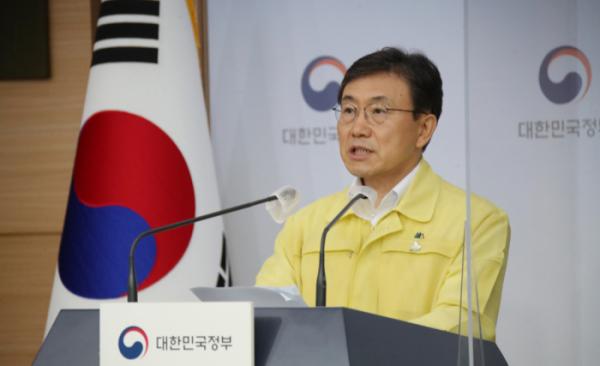 ▲권덕철 보건복지부 장관. (연합뉴스)