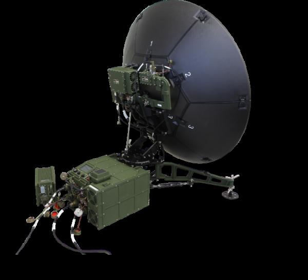 ▲한화시스템이 양산하는 ′군위성통신체계-II' 운반용 단말기 형상. (사진제공=한화시스템)