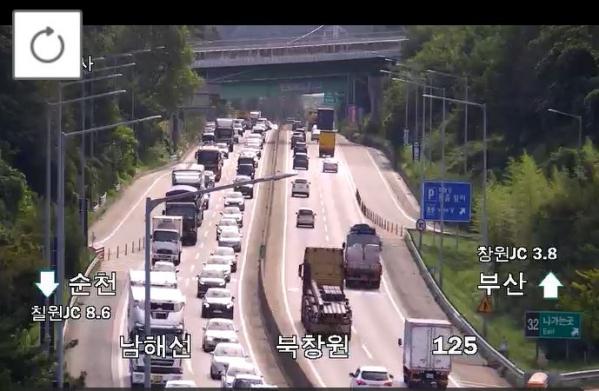 ▲한국도로공사 CCTV 캡처.