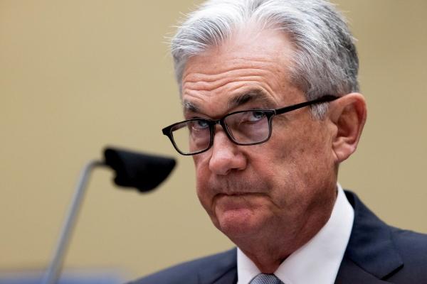 ▲제롬 파월 미국 연방준비제도(Fed·연준) 의장이 6월 22일 의회에 참석해 질문을 받고 있다. 워싱턴D.C./로이터연합뉴스