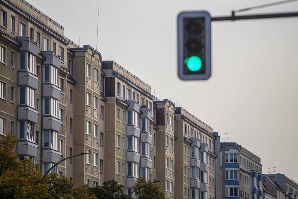▲27일(현지시간) 독일 베를린에 있는 아파트 전경의 모습이 보인다. 베를린/EPA연합뉴스