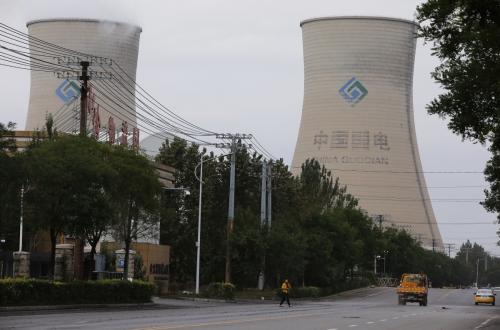 ▲중국 랴오닝성 선양에 위치한 석탄발전소가 보인다. 선양/로이터연합뉴스