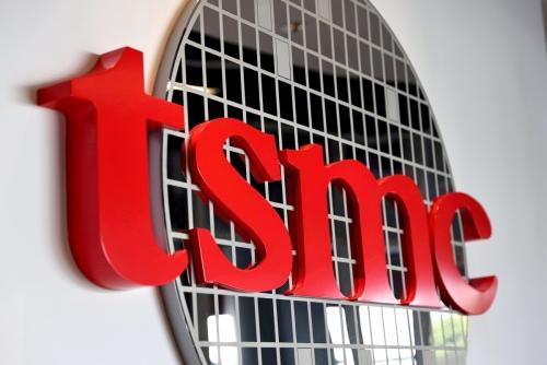 ▲대만 TSMC 로고가 보인다. 로이터연합뉴스