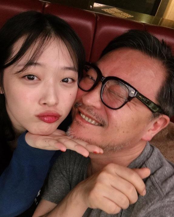 ▲故설리(왼), 김의성 (출처=故설리 인스타그램)