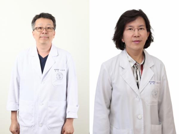 ▲이창희(왼쪽) 고대의료원 의료영상센터장, 이기열 연구소장 (제공=고대의료원)