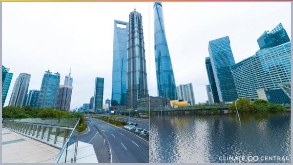 ▲중국 상하이. 출처 기후중심