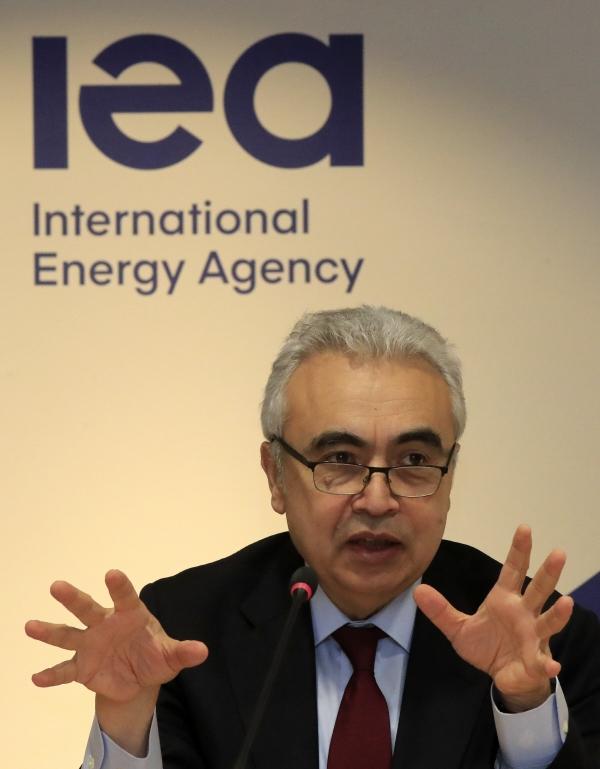 ▲페이스 비롤 국제에너지기구(IEA) 사무총장. AP뉴시스